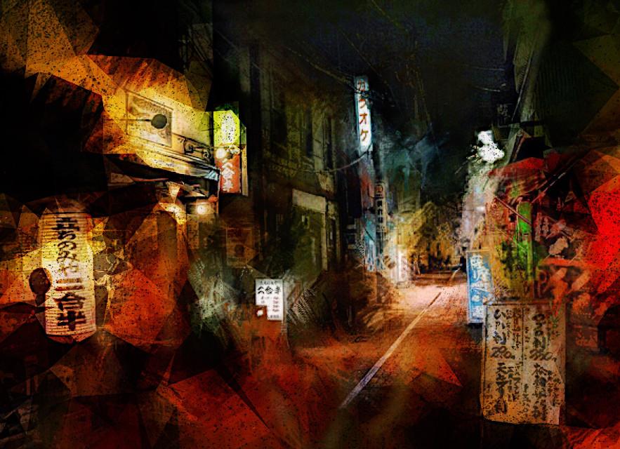 Japan town. #beautiful #instaart #instaartsy #instaartwork #instaartist #instaartpop #instaarthub #instaartoftheday #instaarte #instaarts #instaartistic #art #artwork #artist #artshow #artgallery #newartwork #artfairnyc #fineart #myart #artnews #artinfo #creative #color #colour #arte #illustration