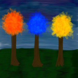 trees colorful skyview draw colors wdpprimarycolors