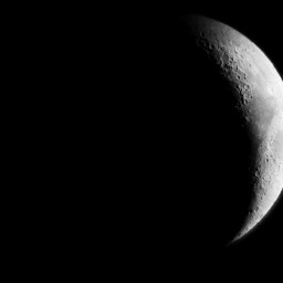 freetoedit moon nightsky blqckandwhite telescope