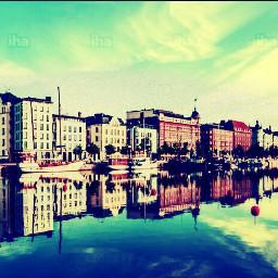 finland finlandia helsinki city mirror freetoedit