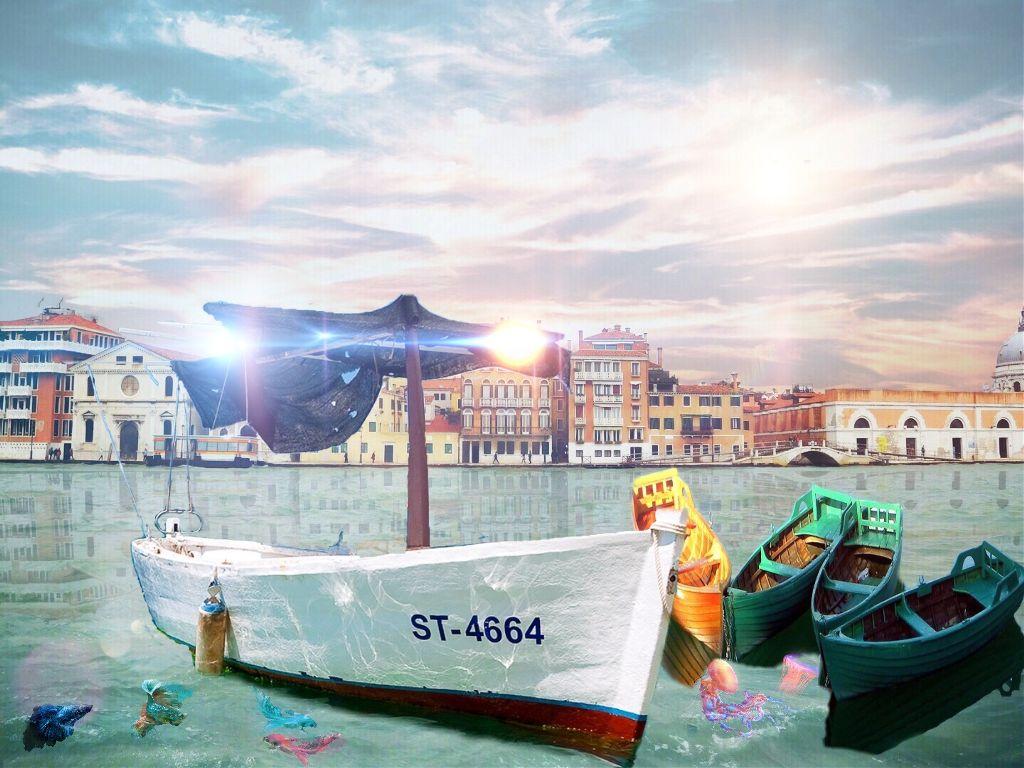 #FreeToEdit #sea #riverside #riverfront #riverplate #boats #boat #colorful #beauty #art #city #riverview #waterfronturbanscenery #waterfront