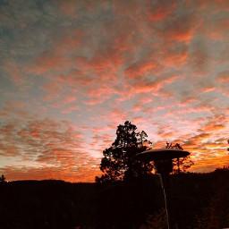 arrowhead lake california sunset