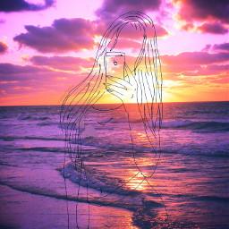 followcookie asiangirls japanesegirls sunset sea