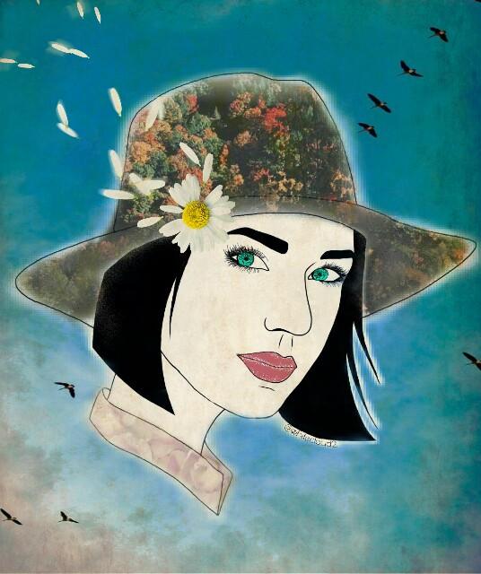 #FreeToEdit  #remixed #girl #drawing